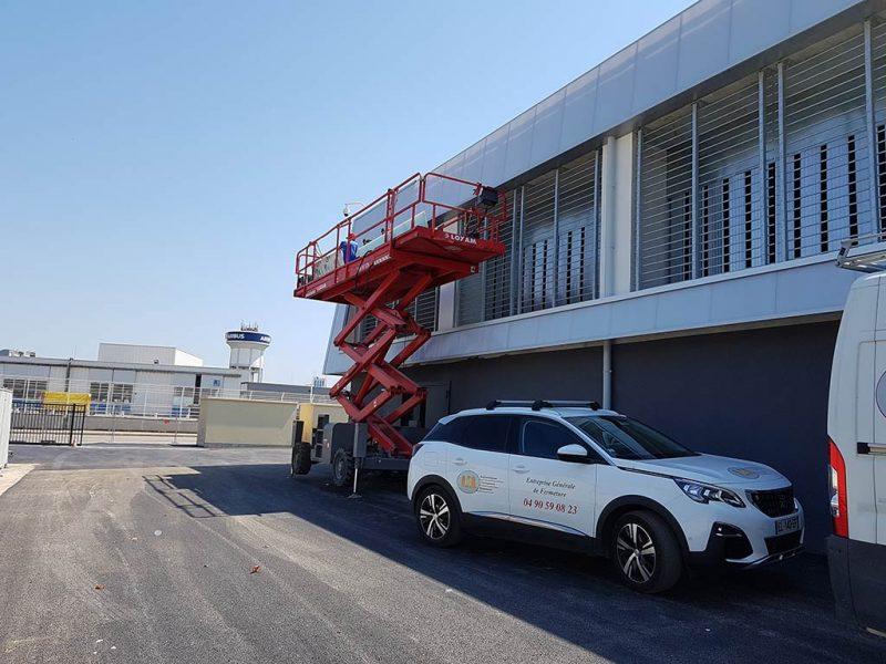Centrale Energie Aéroport Marseille Provence