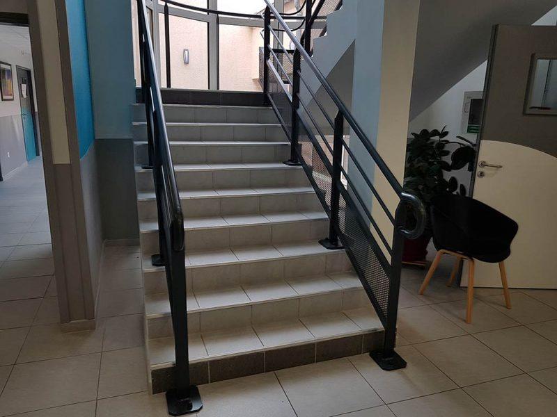 Rampe d'escalier la Chrysalide