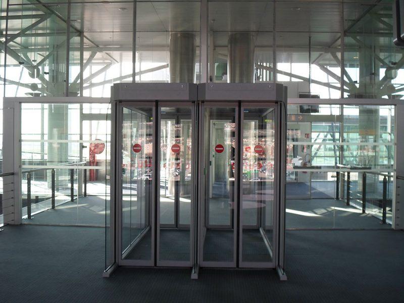 Porte anti-retour