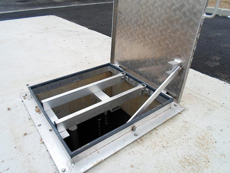 Trappe de visite en aluminium